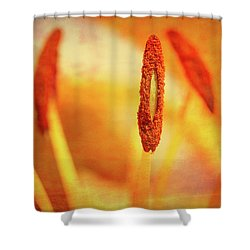 Pistil Packen Shower Curtain