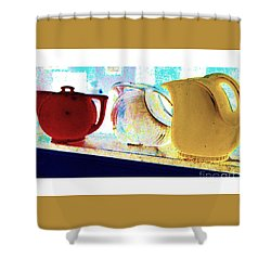 Pitchers Shower Curtain