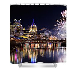 Pittsburgh 1  Shower Curtain