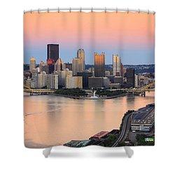 Pittsburgh 16 Shower Curtain