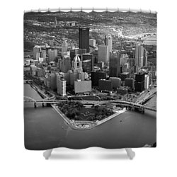 Pittsburgh 8 Shower Curtain