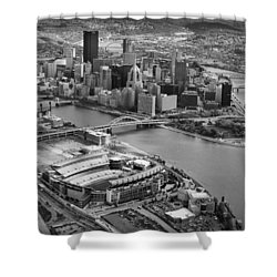 Pittsburgh 9 Shower Curtain