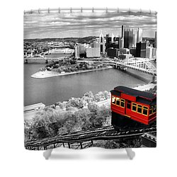 Pittsburgh From The Incline Shower Curtain