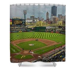 Pittsburgh Pirates Pnc Park 5569 Shower Curtain
