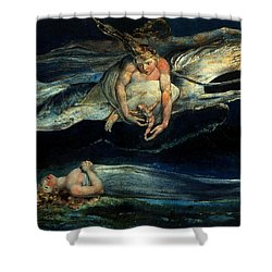 Pity Shower Curtain by William Blake