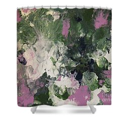 Pixie Flowers Shower Curtain