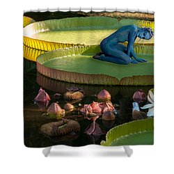 Pixie Girl Shower Curtain by Carolyn Dalessandro