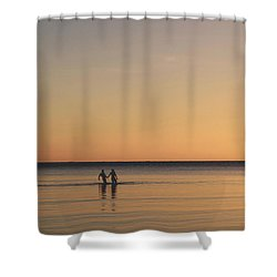 Placid Shower Curtain