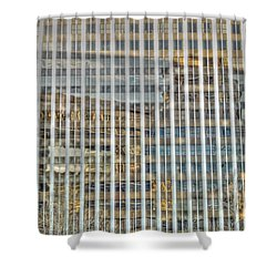 Plaid Light In La Shower Curtain