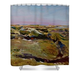 Coulee Evening Shower Curtain