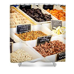 Shower Curtain featuring the photograph Plain Nutty by Jason Smith