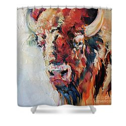 Plains Legacy Shower Curtain