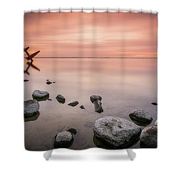 Plane And Colors Shower Curtain