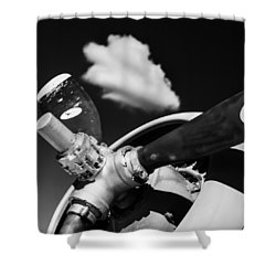 Shower Curtain featuring the photograph Plane Portrait 2 by Ryan Weddle