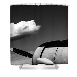 Shower Curtain featuring the photograph Plane Portrait 3 by Ryan Weddle