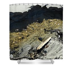 Planet Beach Shower Curtain