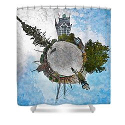 Planet Gelderseplein Rotterdam Shower Curtain