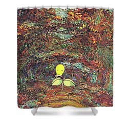 Planet Pokemonet  Shower Curtain