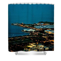 Planetarium And Aquarium Shower Curtain