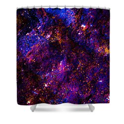 Planetary Sky Shower Curtain by Bruce Pritchett