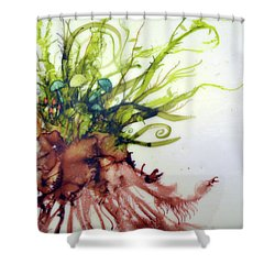 Plant Life #2 Shower Curtain