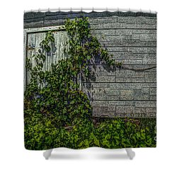 Plant Security Shower Curtain