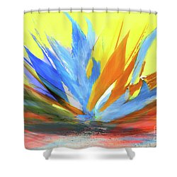 Planta De Jardin Shower Curtain