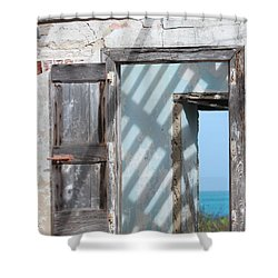 Plantation Quarters Shower Curtain