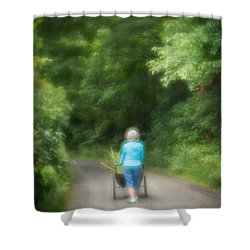 Planting Shower Curtain