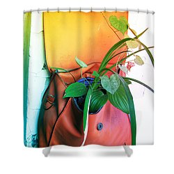 Planting Of Greenery Shower Curtain