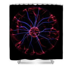 Plasma Ball IIi Shower Curtain