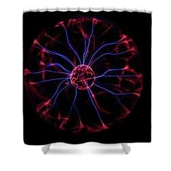 Plasma Ball IIi Shower Curtain