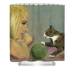 Play Ball Shower Curtain