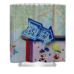 Play Here Shower Curtain