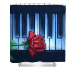 Play It Again Sam Shower Curtain