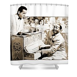 Play It Sam Shower Curtain