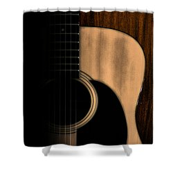 Play Me Shower Curtain by Bill Cannon