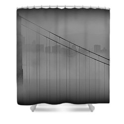 Play Misty For Me Shower Curtain by Edward Kreis
