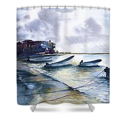 Playa Del Carmen Shower Curtain