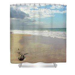 Playa El Ultimo Trolly Shower Curtain