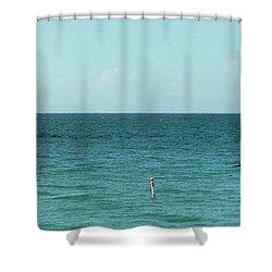 Playa Punta Las Marias Shower Curtain