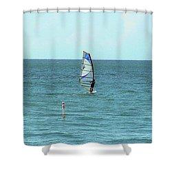 Playa Puntas Las Marias Shower Curtain