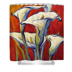 Playful Calas 2 Shower Curtain
