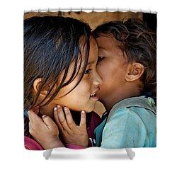Playful Secrets Shower Curtain