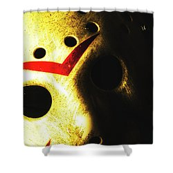 Playing The Intimidator Shower Curtain by Jorgo Photography - Wall Art Gallery