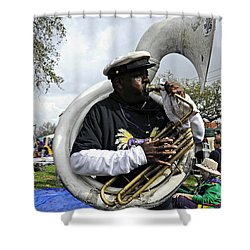 Playing To The Crowd Shower Curtain by Kathleen K Parker