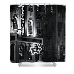 Playwright Celtic Pub Shower Curtain by Mark Andrew Thomas