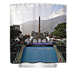 Plaza Altamira Shower Curtain