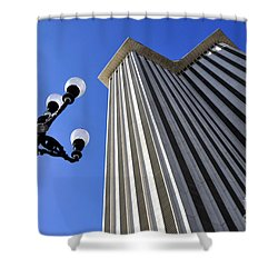 Plaza De Espana Shower Curtain
