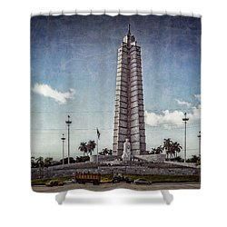 Plaza De La Revolucion Shower Curtain